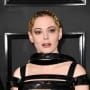 Rose McGowan at the Grammys