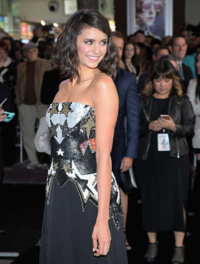 Nina Dobrev Red Carpet Pic