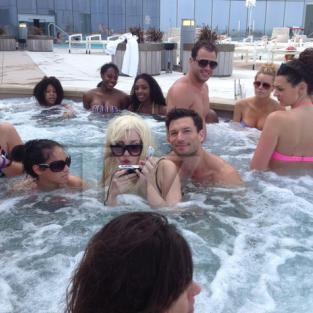 Amanda Bynes in the Pool