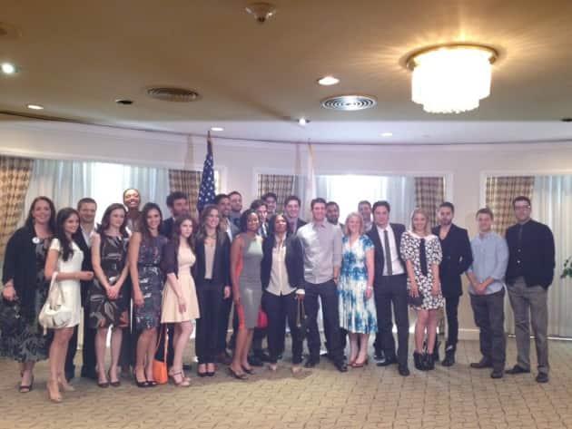 Hollywood Stars Meet President Obama