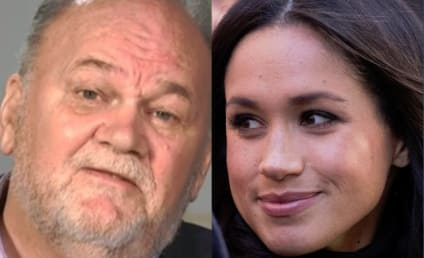 Meghan Markle: Driven to Tears By Idiot Dad's Cruel Comments
