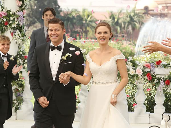 Booth and Bones Get Married