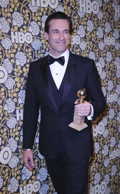 Jon Hamm: HBO's Post-2016 Golden Globe Awards Party