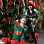 Michelle McGee and an Elf