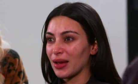 Kim Kardashian Cries Over Robbery