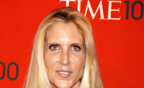 Ann Coulter Red Carpet Pic