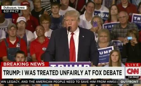 Donald Trump Mocks Asians at Campaign Event