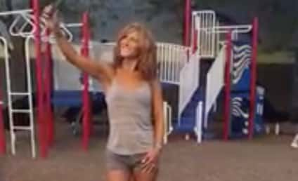 Mother Ignores Children on Playground, Aims for Perfect Selfie