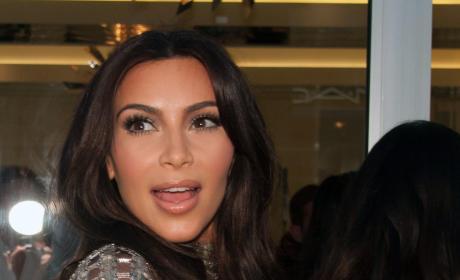 Kim Kardashian Surprised