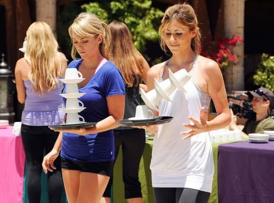 Rachel Trueheart and Lindzi Cox