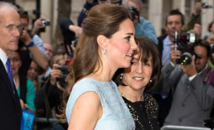 Kate Middleton Blue Dress: Could She Be Any Cuter?