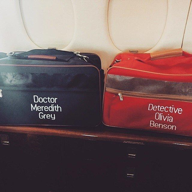 You Get Personalized Luggage!
