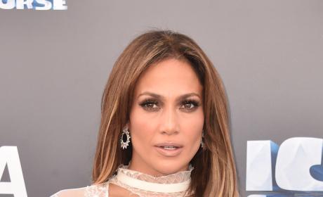 Jennifer Lopez at Ice Age: Collision Course Premiere