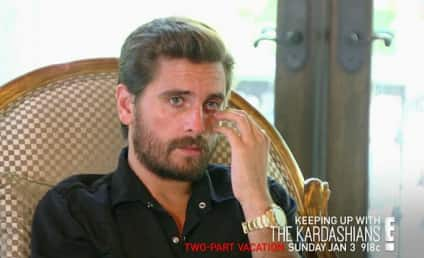 Scott Disick Crashes Kourtney Kardashian's Vacation: WATCH!