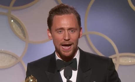 Tom Hiddleston Mocked, Slammed for Self-Serving Golden Globes Speech