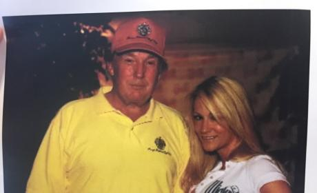 Jessica Drake and Donald Trump