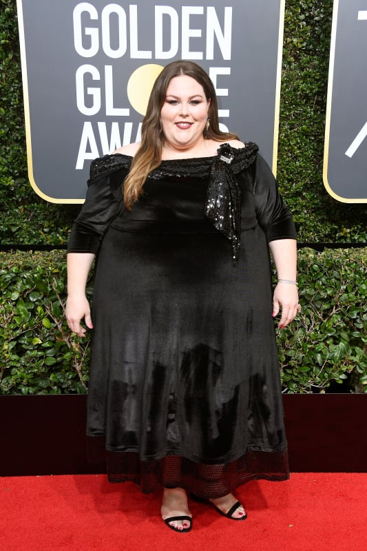 Chrissy metz at the globes