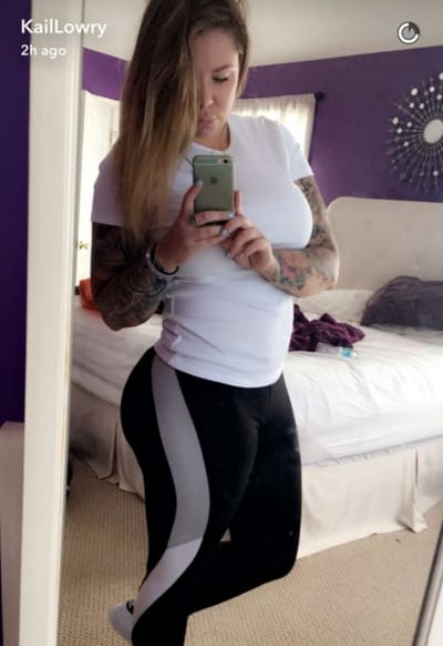 Kailyn Lowry Flaunts Hot Body