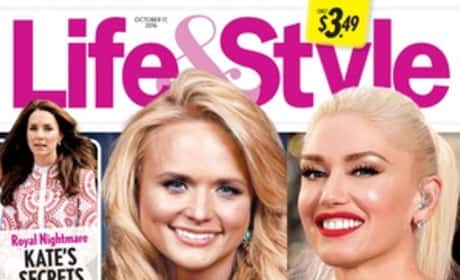 Gwen Stefani Miranda Lambert Life & Style 10.17.2016