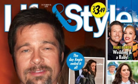 Brad Pitt Tabloid Cover