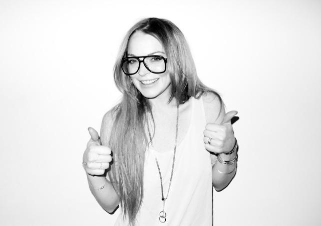 Lindsay Lohan Glasses Photo