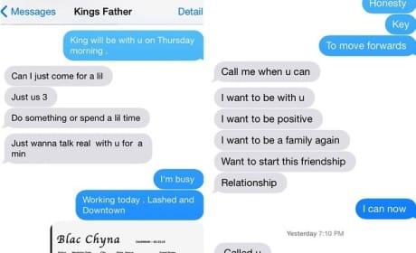 Blac Chyna-Tyga Conversation