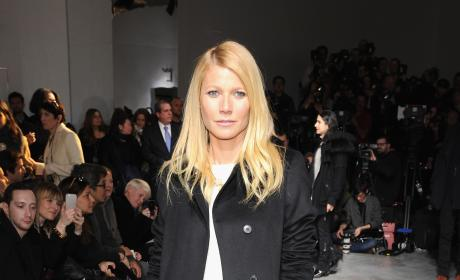 Gwyneth Paltrow: Boss Women Fashion Show in February 2014