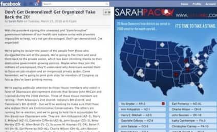 "Sarah Palin ""Crosshairs"" Map: Still on Facebook!"