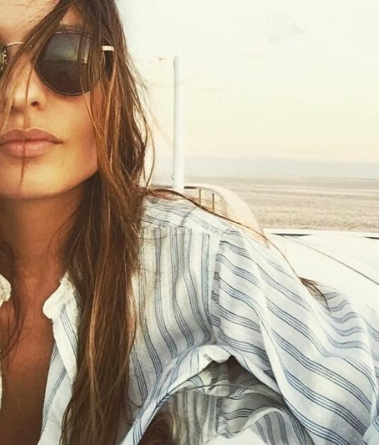 Chloe bartoli hot on the beach