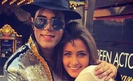 Paris Jackson, Michael Jackson Impersonator Photo