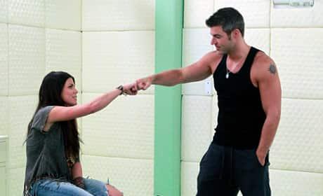 Daniele and Jeff on Big Brother