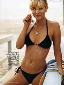 Kaley Cuoco Bikini Photo