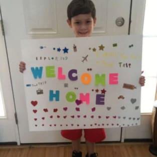 Welcome Home Javi!