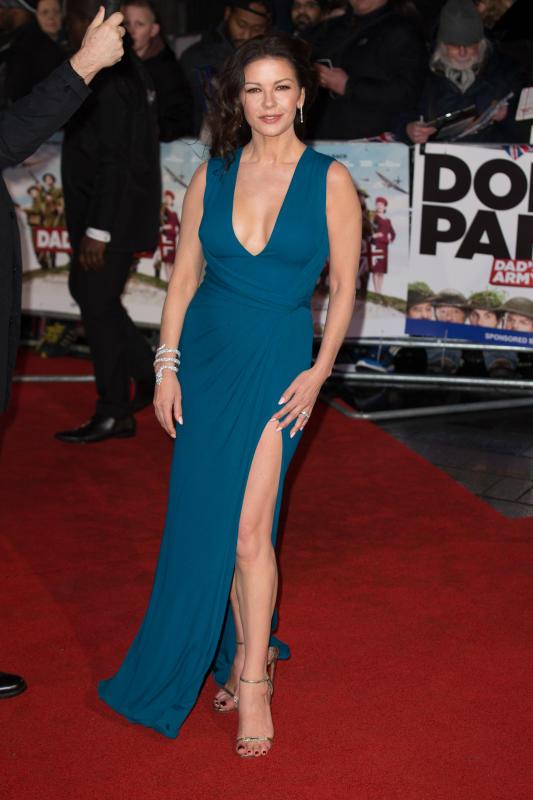 Catherine Zeta-Jones: Premiere of 'Dad's Army'