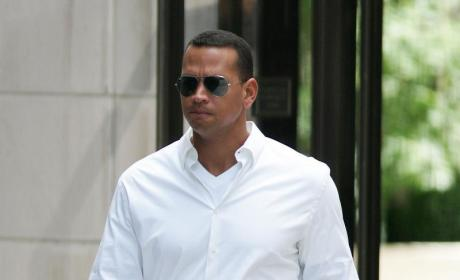 A-Rod in White