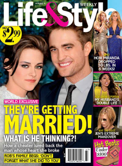 Robert Pattinson and Kristen Stewart Are Getting Married!