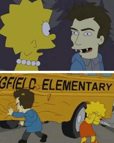 Twilight/Simpsons