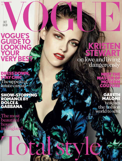 Kristen Stewart on UK Vogue