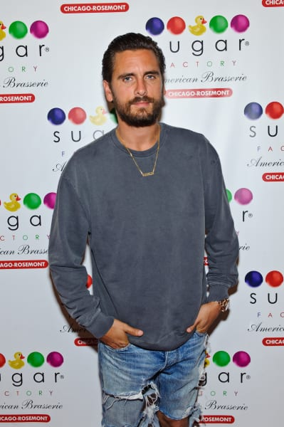 Scott Disick at the Sugar Factory Photo