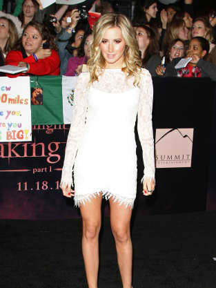 Ashley Tisdale at Breaking Dawn Premiere