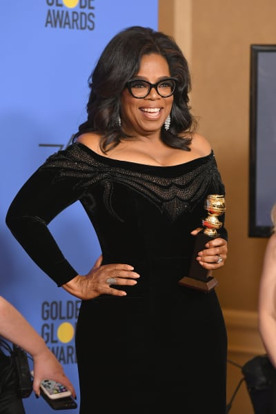 Oprah Backstage