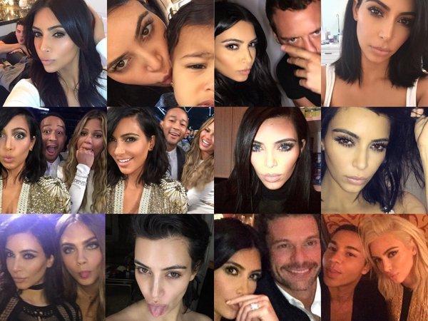 Kim Kardashian and Friends