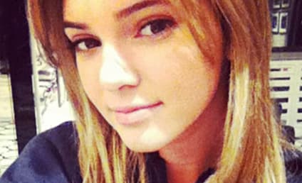 Kendall Jenner Pretends to Go Blonde