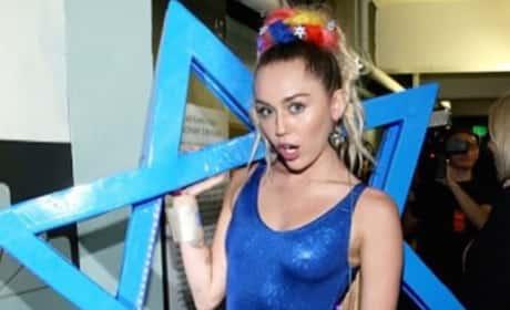 Miley Cyrus Goes Jewish