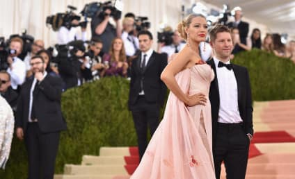 Blake Lively: Hiding Baby Bump Under Met Ball Gown?