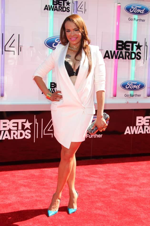 Faith Evans BET Awards Photo