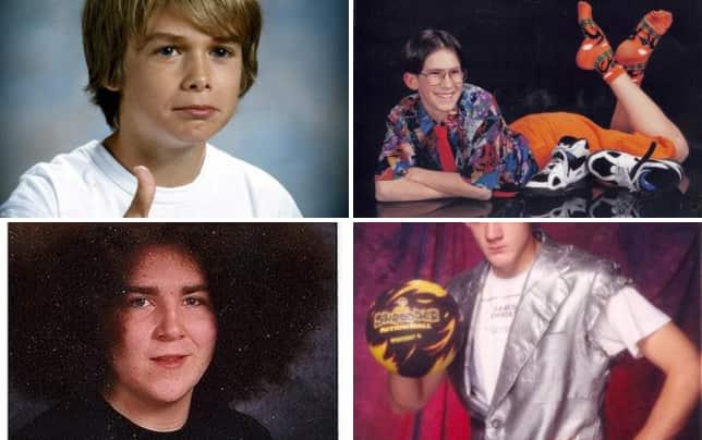 35 awkward school photos thumbs up