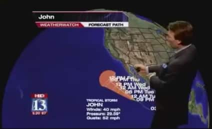 Weather Guy Gets Really Excited By Storm