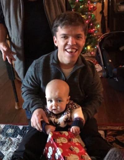 Jackson on Christmas