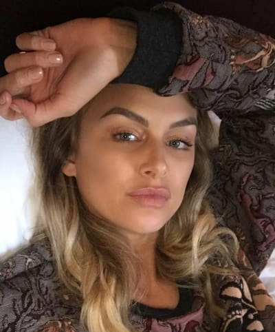 Lala Kent in Bed